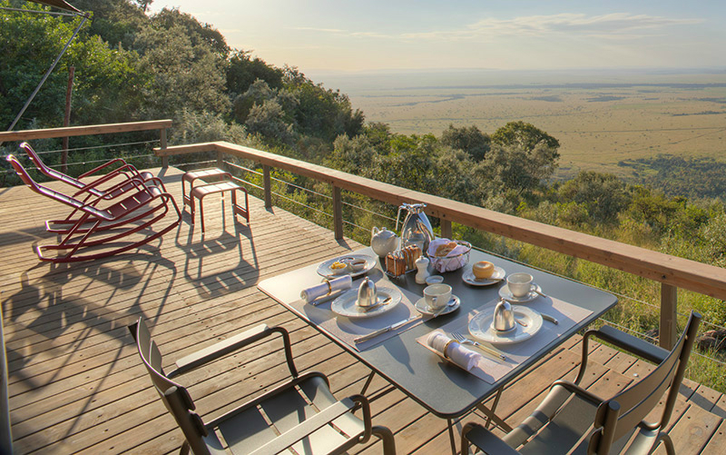 Luxurious Eco-Friendly Travel Companies and Hotels - Angama Mara