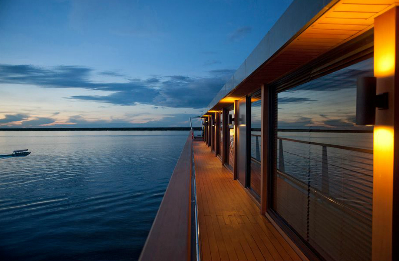 Luxurious Eco-Friendly Travel Companies and Hotels - Aqua Expeditions