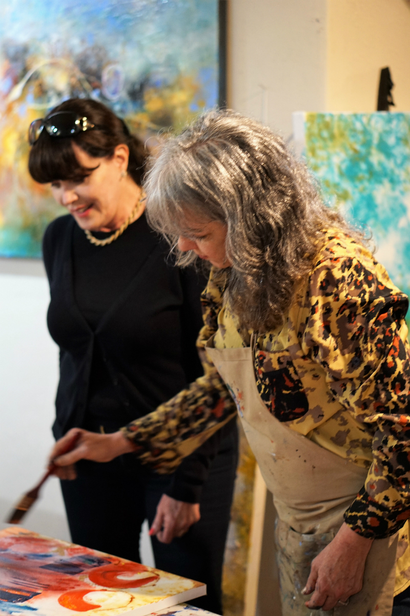 An Enchanting Vacation in Carmel-by-the-Sea - Art Immersion Workshop at Titus Gallery