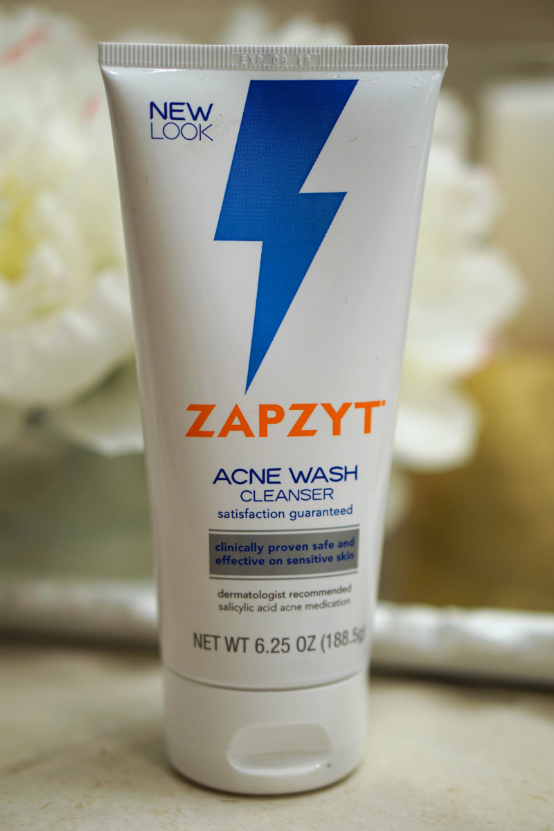 How To Treat Body Acne Quickly - Zapzyt Acne Wash Cleanser