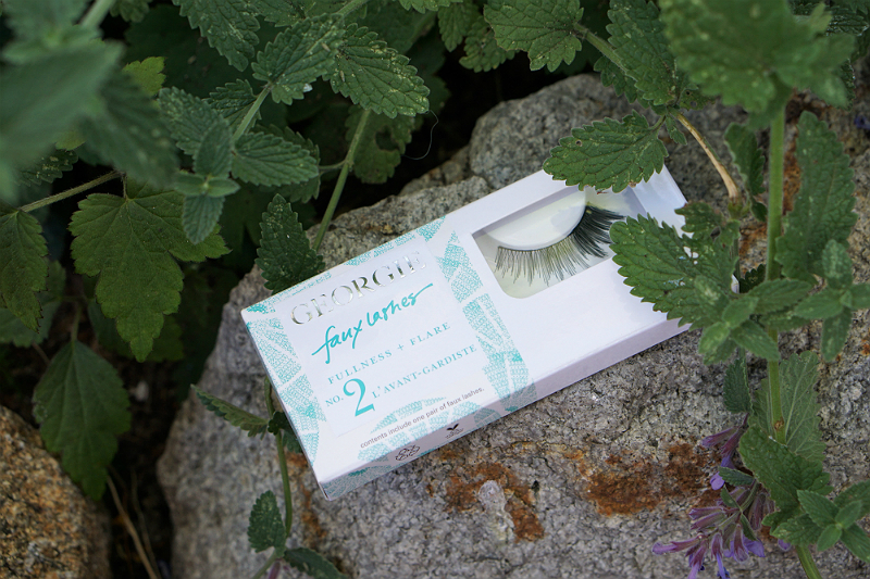 Power Your Happy Giveaway - Georgie False Lashes