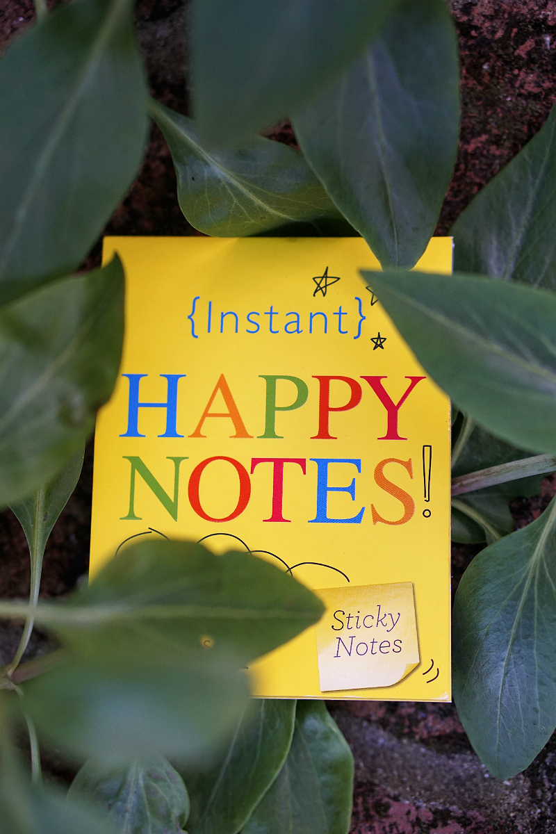 Power Your Happy Giveaway - Happy Notes