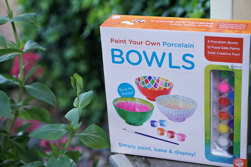 Power Your Happy Giveaway - Paint Your Own Porcelain Bowls