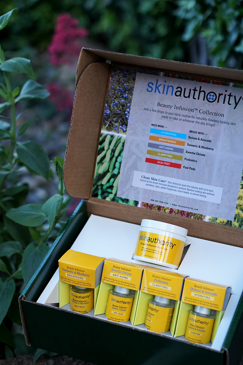 Power Your Happy Giveaway - Skin Authority Beauty Infusion Collection