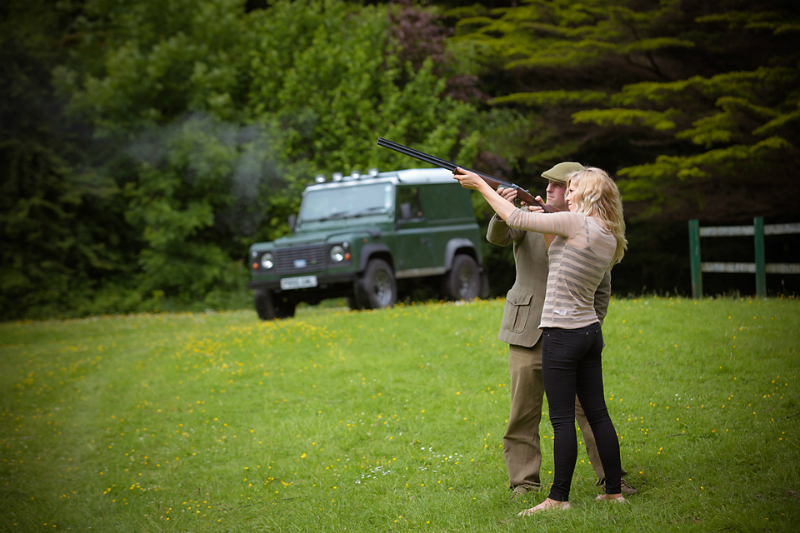 5 Super Cool Father's Day Experiences Around The Globe - Ashford Castle Clay Pigeon Shooting