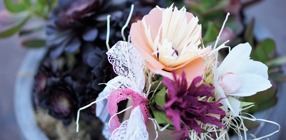 Folktale Artisan Workshop - Tutorial on DIY Crepe Paper Flowers