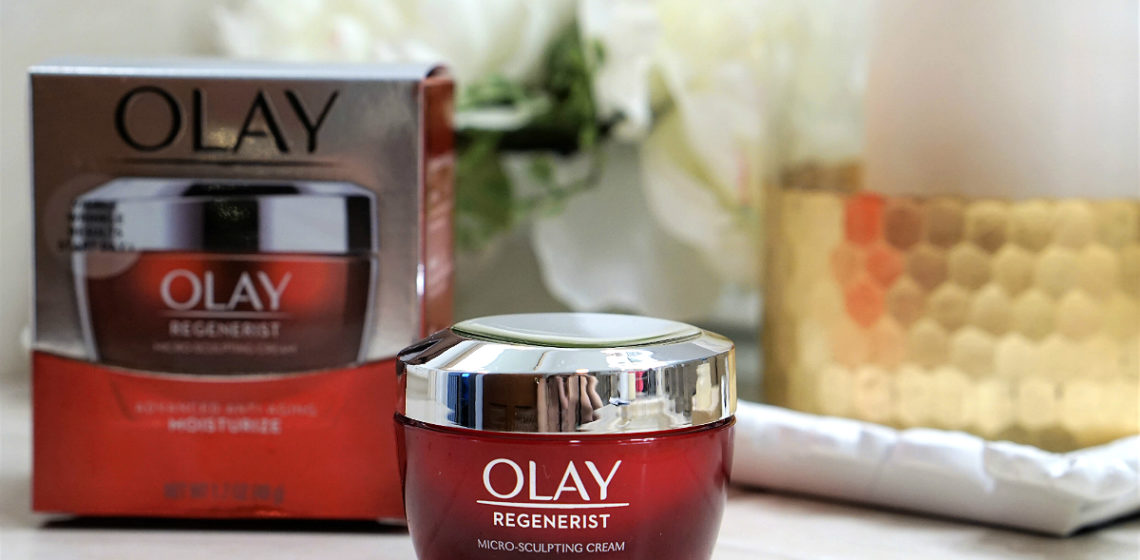 Olay Regenerist Micro-Sculpting Cream - A Supercharged Formula for Looking Ageless