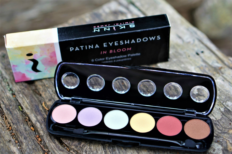 The Bold and Beautiful Giveaway - Skinn Cosmetics Patina Eyeshadows in Bloom