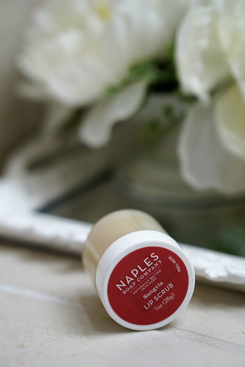 Fabulous Finds - Natural Beauty Products That Actually Work - Naples Sangria Lip Scrub