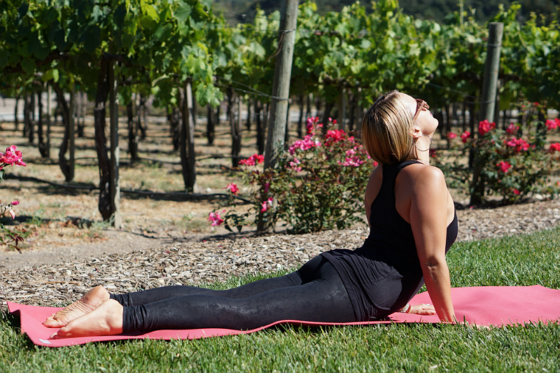 Yoga in the Vines Series - Cobra Pose