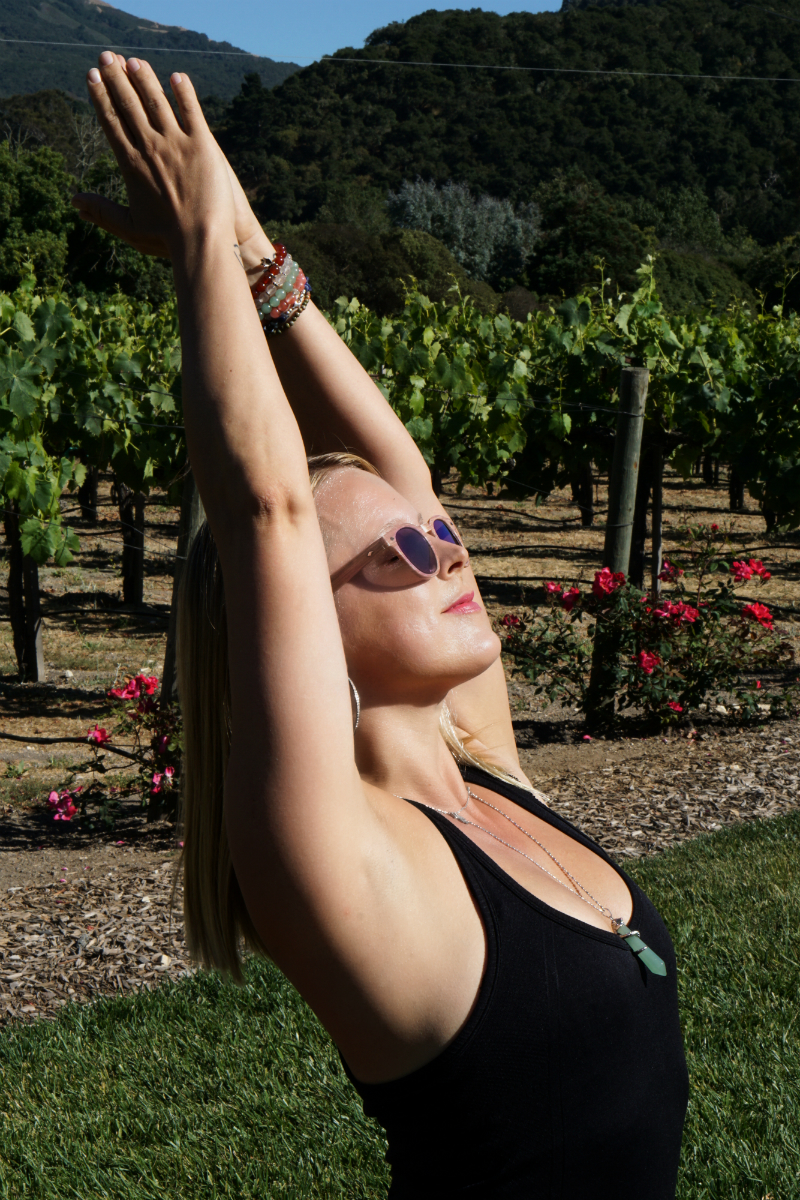 Yoga in the Vines Series - Part 3 - Yoga to Relieve Anxiety