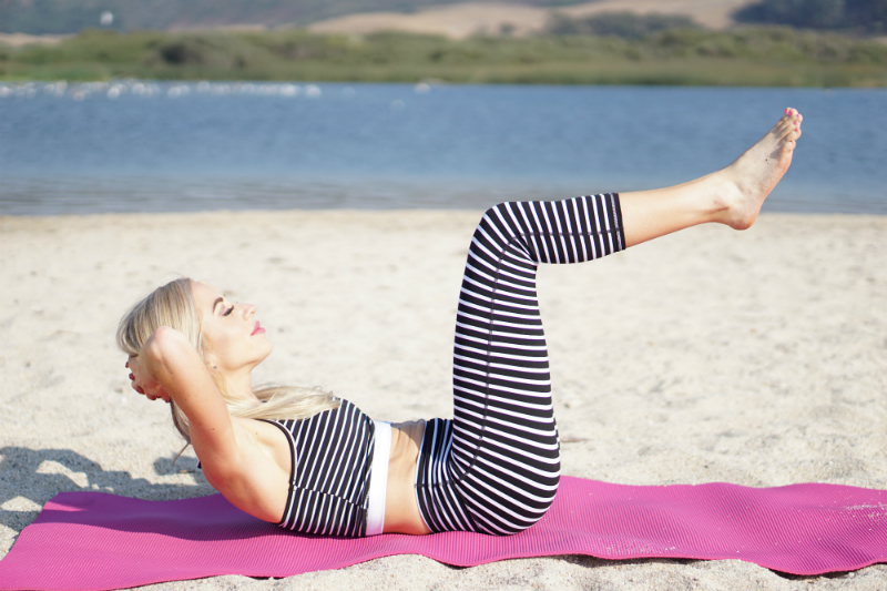 Barre on the Beach Series - 5 Core Exercises for a Firmer Tummy