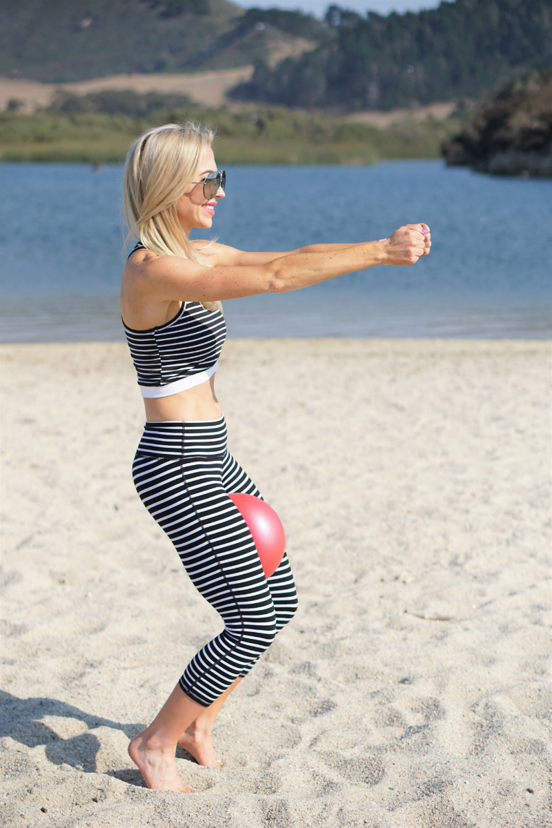Barre on the Beach Series - Leg and Thigh Exercises