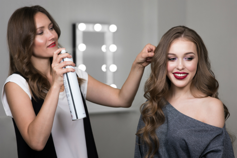 Behind The Scenes Beauty - A Celebrity Hair Stylist Shares Her On-Set Hairstyling Secrets