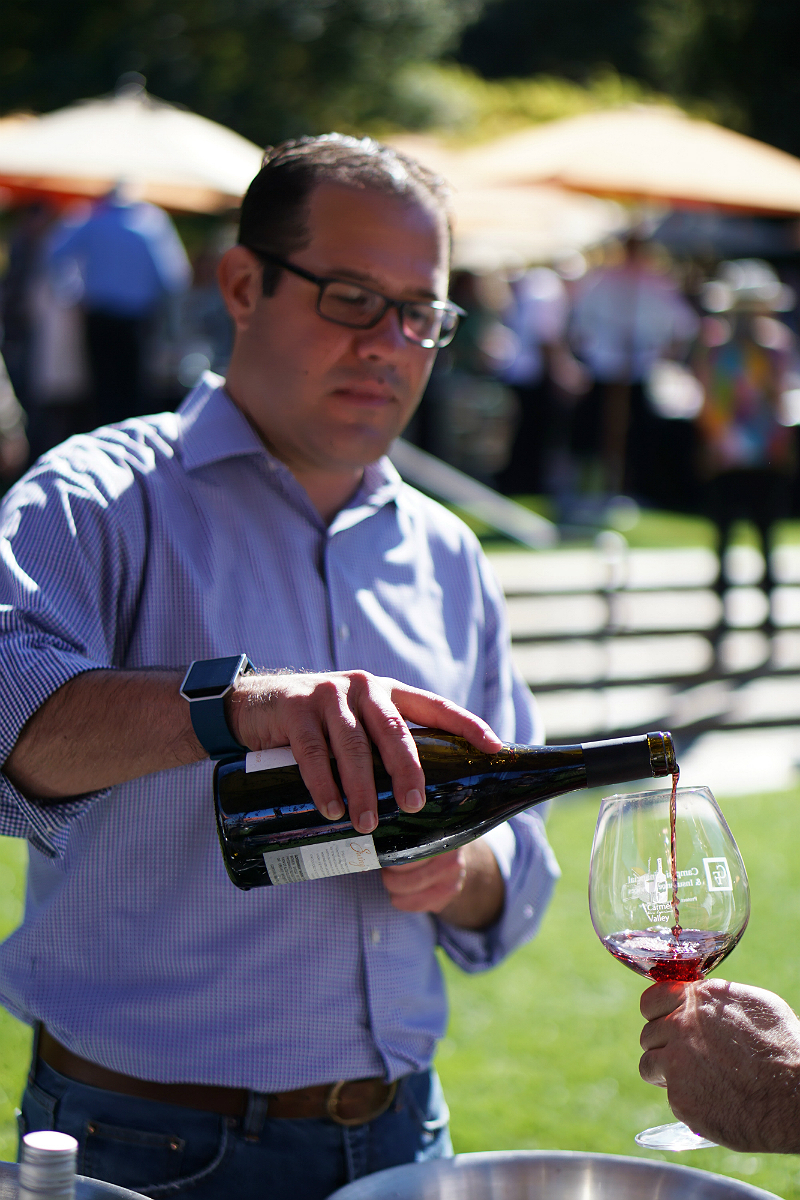 Celebrating Harvest Season at the Carmel Valley Wine Experience Grand Tasting - Swing Wines by Carmel Valley Ranch