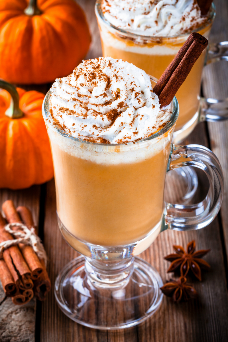 Inspired By The Season - Fun Ways To Enjoy The Best Things About Fall - Pumpkin Spice Latte