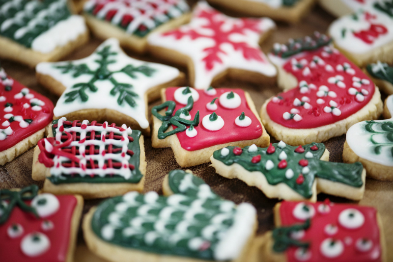 10 Festive Things To Do During The Holidays - Decorating Sugar Cookies