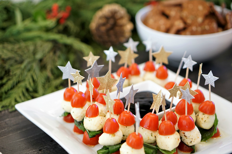 Home Entertaining Guide - How To Host a Rustic Glam Holiday Party