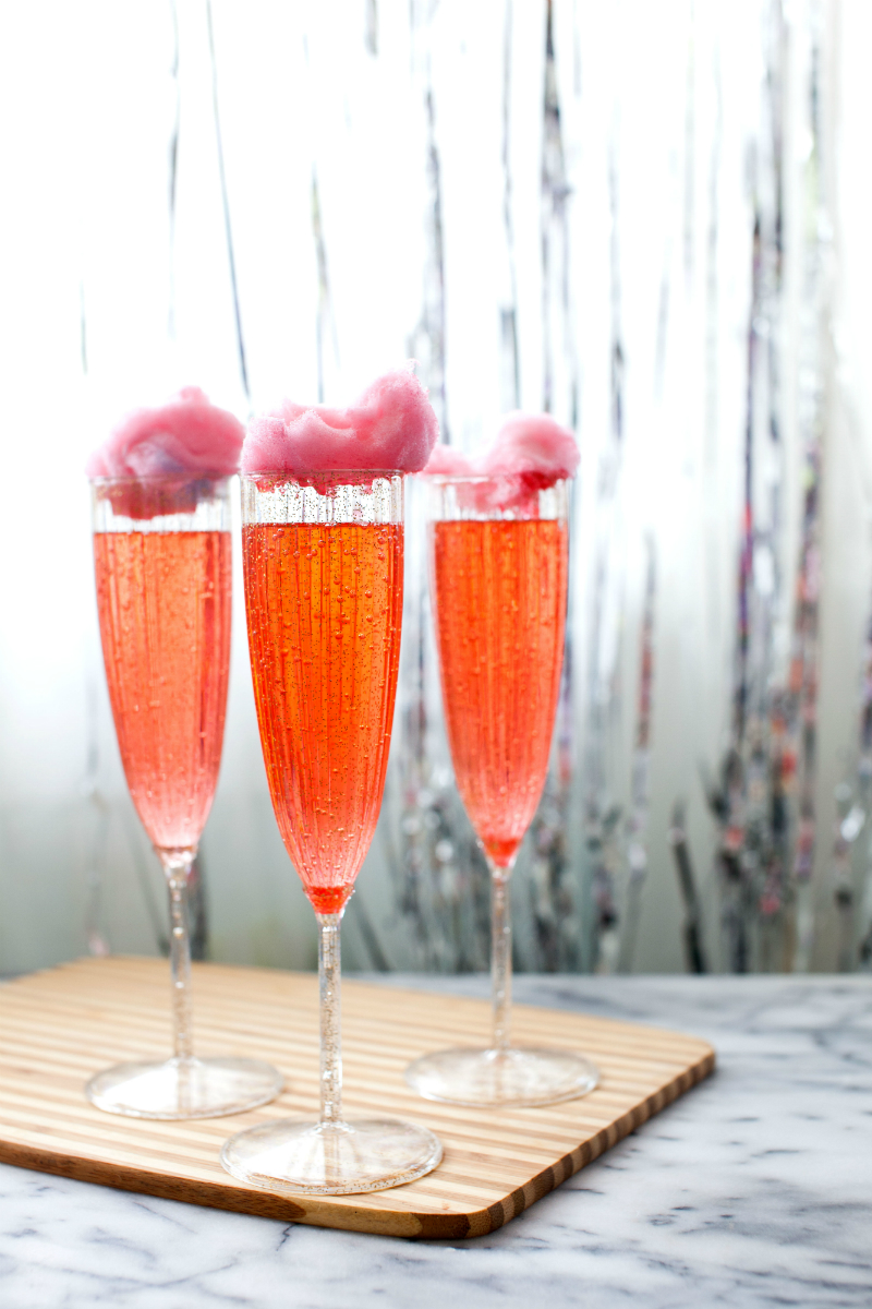 Galentine's Day Party Cocktail Ideas - Disappearing Candy Trick