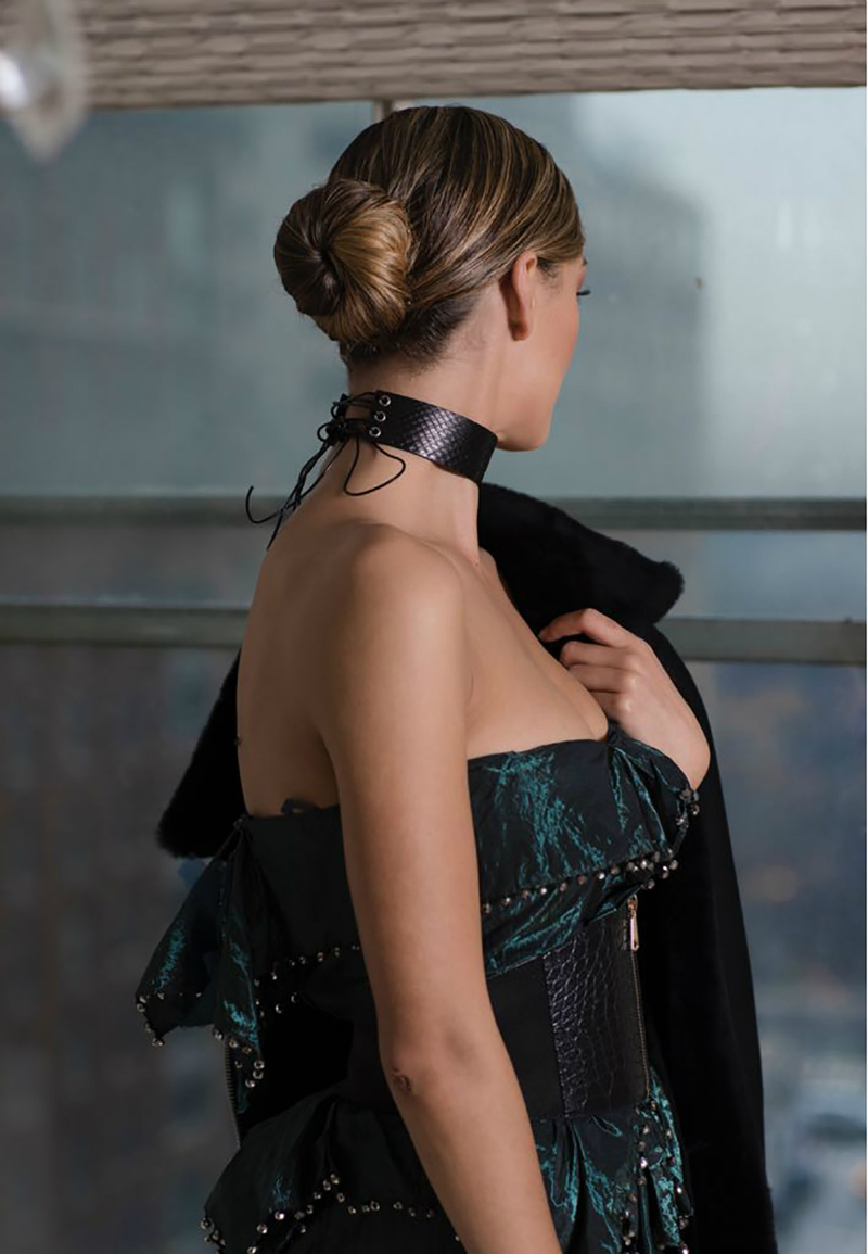 Sleek & Chic Chignon Hairstyle Tutorial - How To Get Miss Universe's NYFW Runway-Ready Look