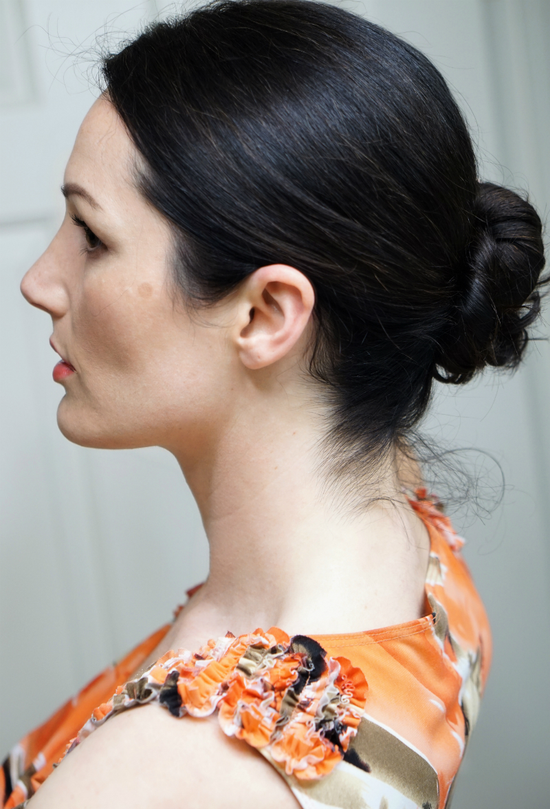 Girly Glam Hairstyle Tutorial - How To Create a Quick & Pretty Ballerina Bun