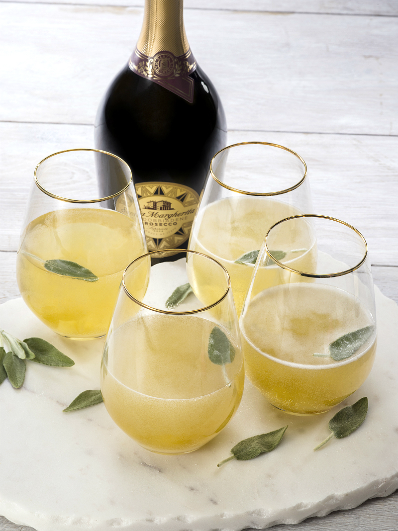 St. Patrick's Day Cocktail Recipe - Ginger Sage