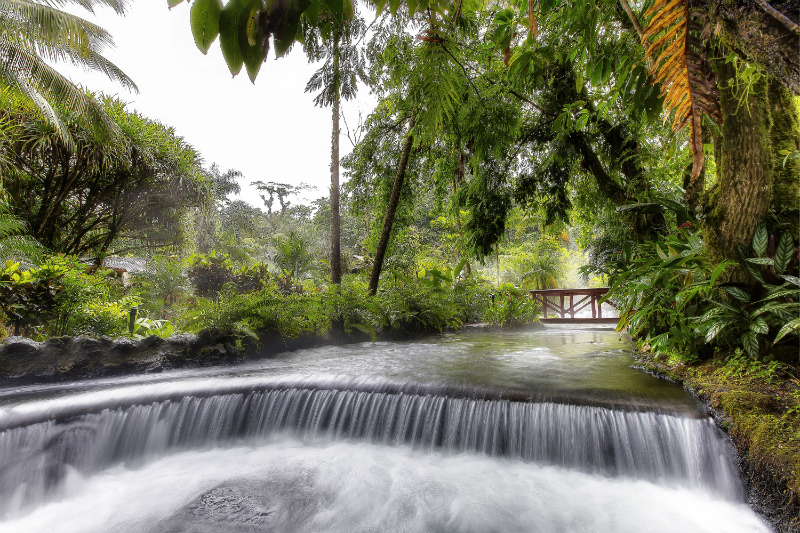Wellness Getaways for Spring - Tabacon Hot Springs