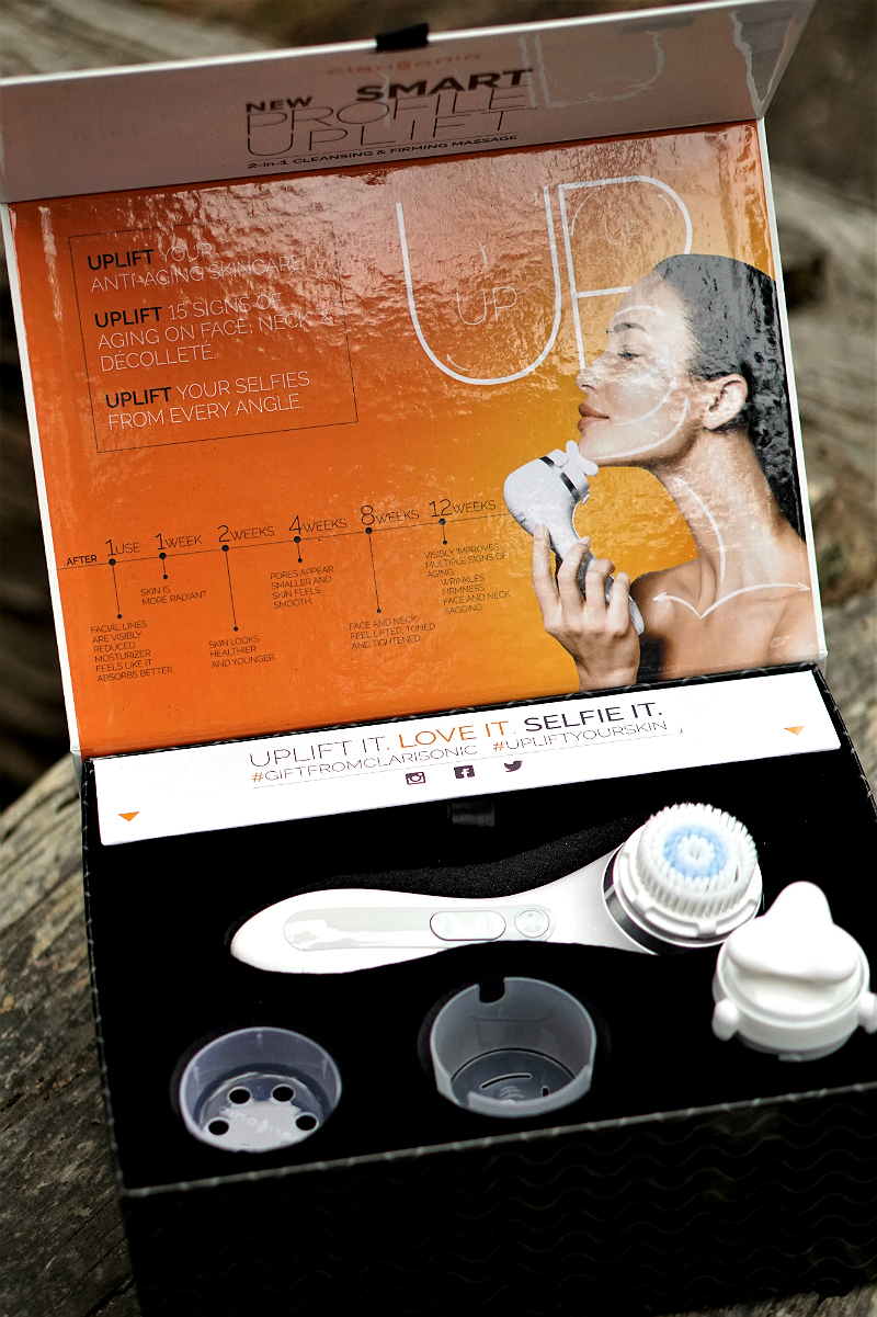 The Beauty Boosting Benefits of Sonic Cleansing Devices - Clarisonic Smart Profile Lift