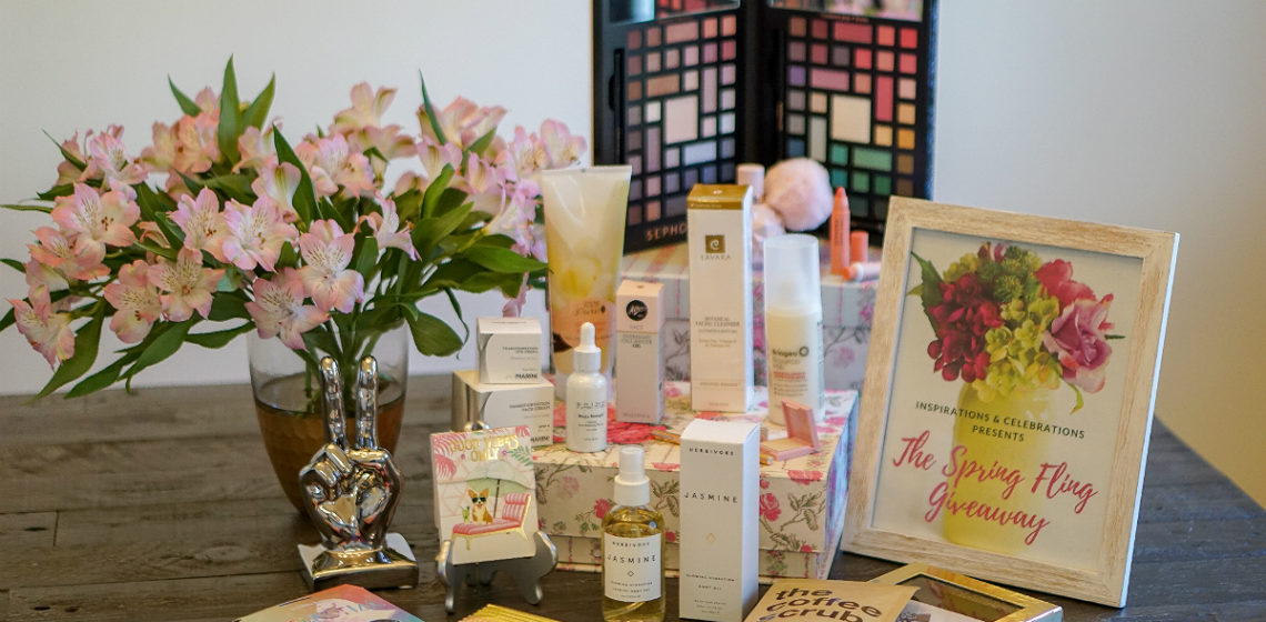 The Spring Fling Giveaway from Inspirations and Celebrations