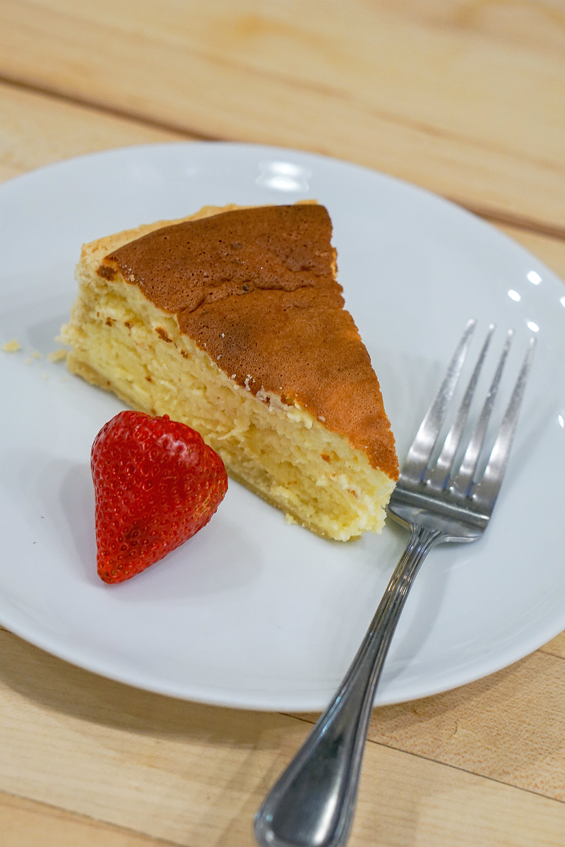 A Delicious Creme Fraiche Cheesecake Recipe from Sur la Table That Takes the Cake