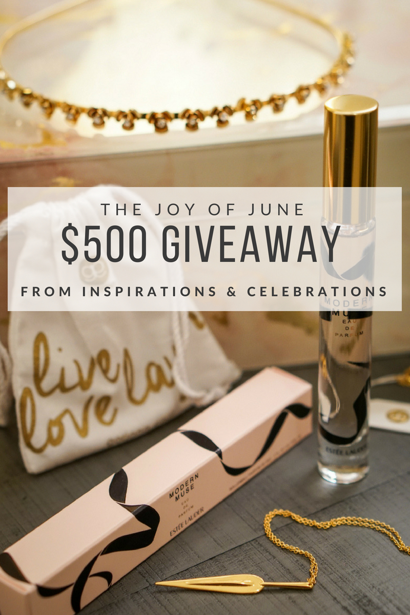 The Joy of June Giveaway from Inspirations & Celebrations