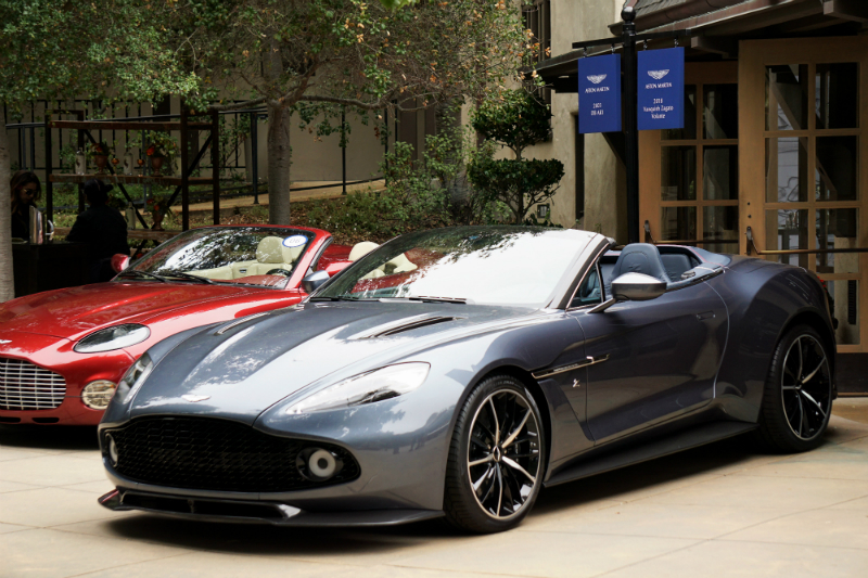 2018 Monterey Car Week Guide - Aston-Martin