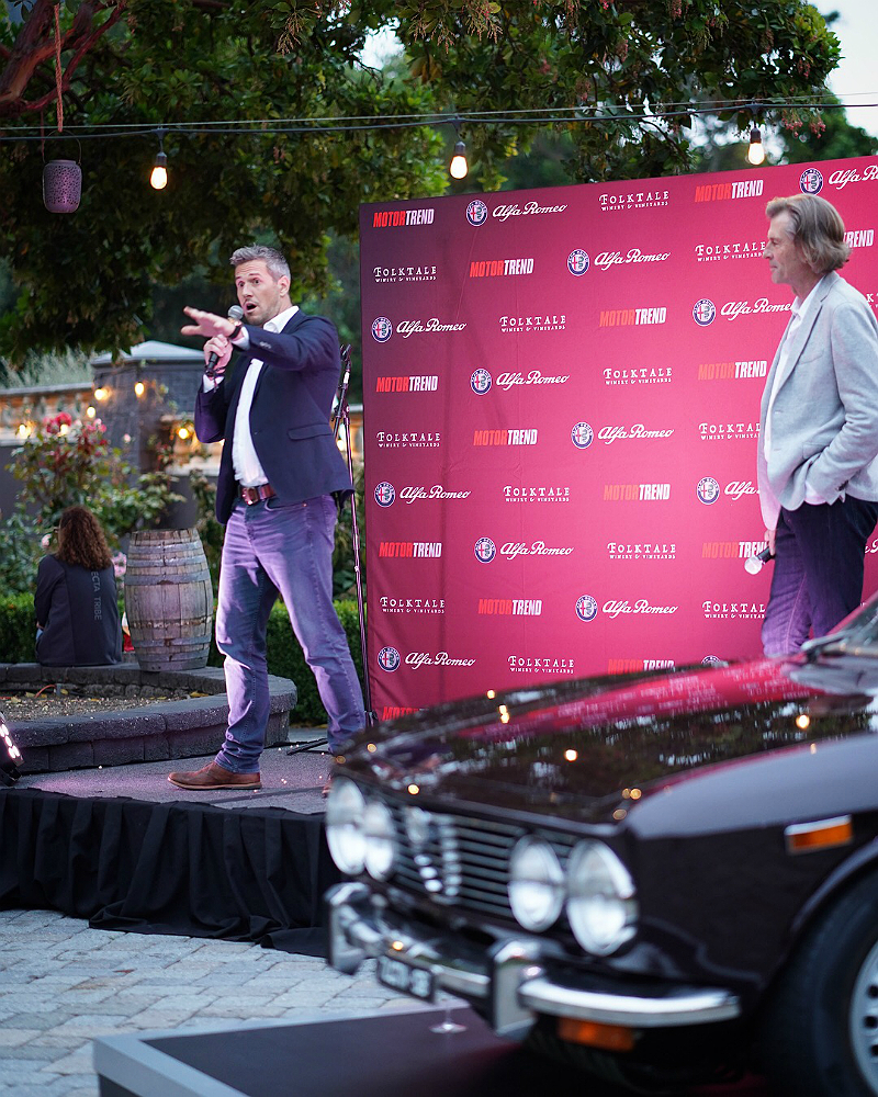 Monterey Car Week 2018 - Alfa Romeo VIP Party Ant Anstead and Motor Trend