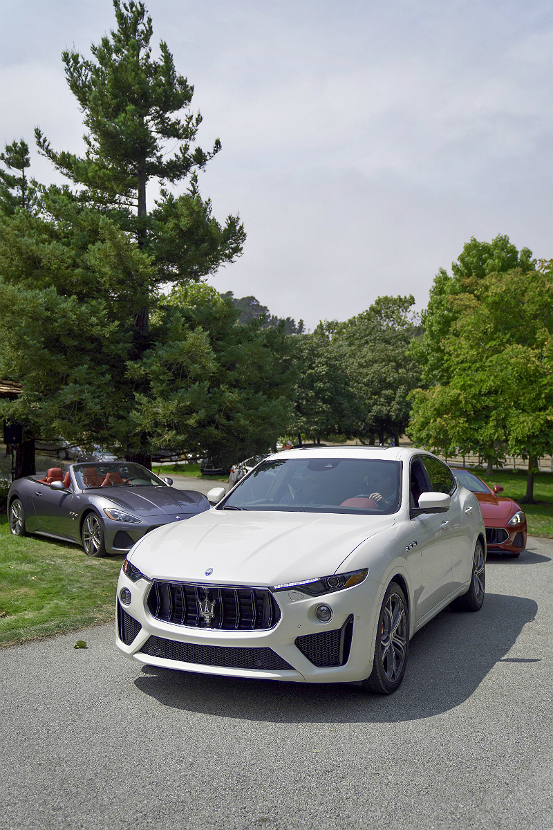 Monterey Car Week 2018 - Maserati Levante