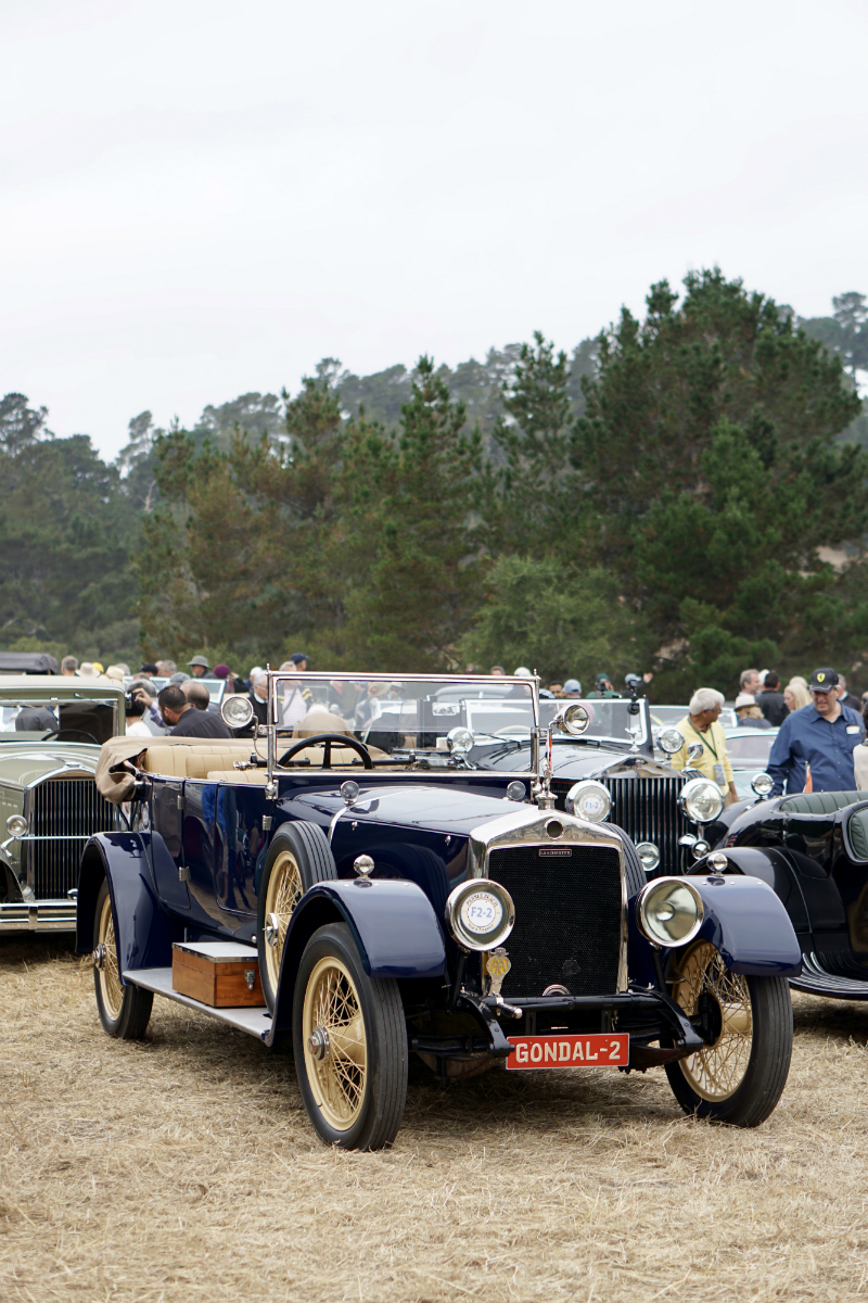 Monterey Car Week 2018 - Pebble Beach Tour d'Elegance