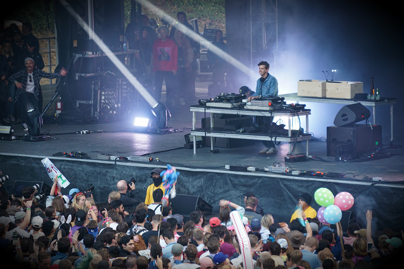 Outside Lands Music and Arts Festival San Francisco - DJ Jamie XX