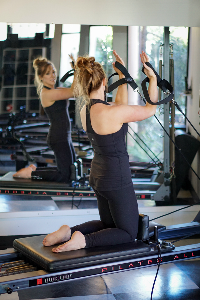 Pilates Reformer Guide - Upper Body Exercises - Bicep Curls