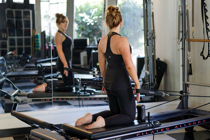 Pilates Reformer Guide - Upper Body Exercises - Chest Expansion
