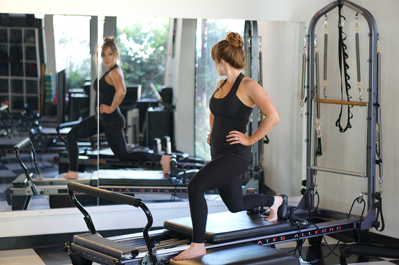 Pilates Reformer Lower Body Exercises