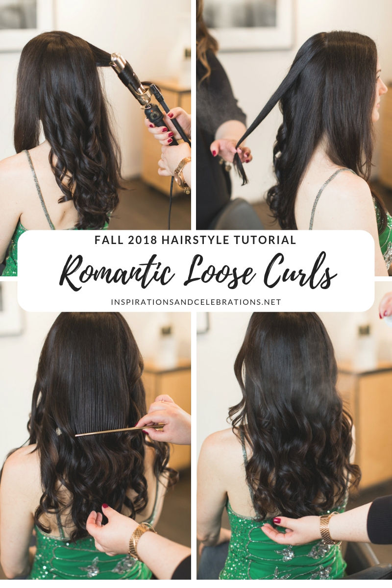 Fall 2018 Hairstyle Tutorial - Romantic Loose Curls