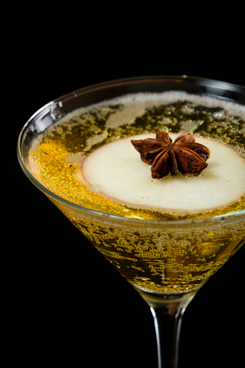 Fall Cocktails - Autumn Apple Martini