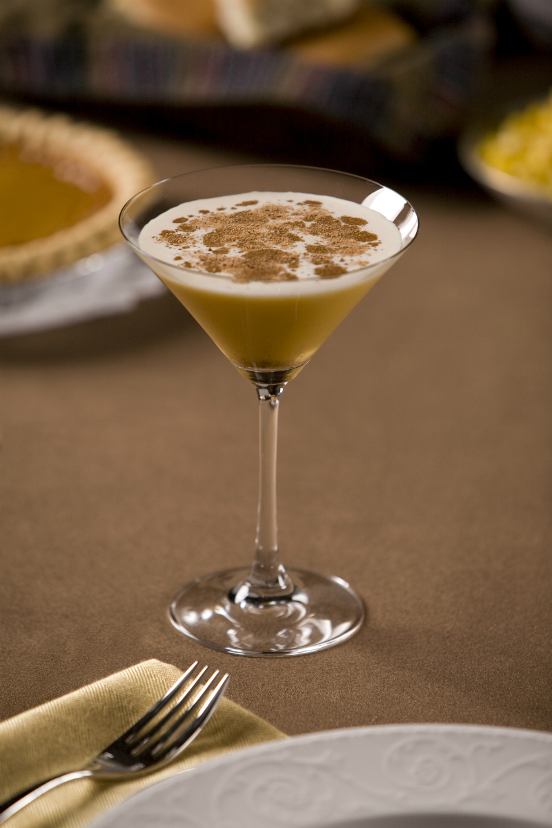 Fall Cocktails - Pumpkin Spice Martini