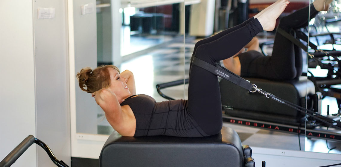Pilates Reformer Ab Exercises