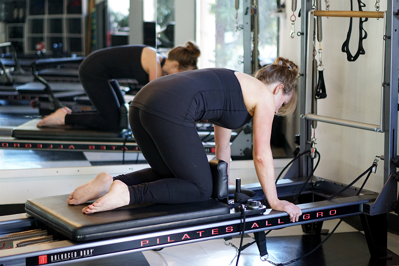 Pilates Reformer Ab Exercises - Kneeling Abdominals