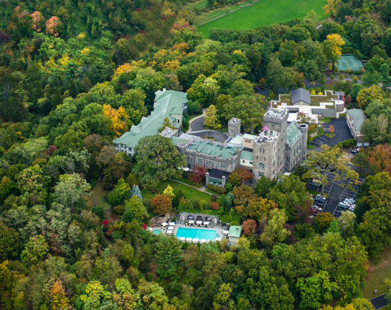The Coziest Luxury Hotels for Viewing Fall Foliage - Castle Hotel and Spa