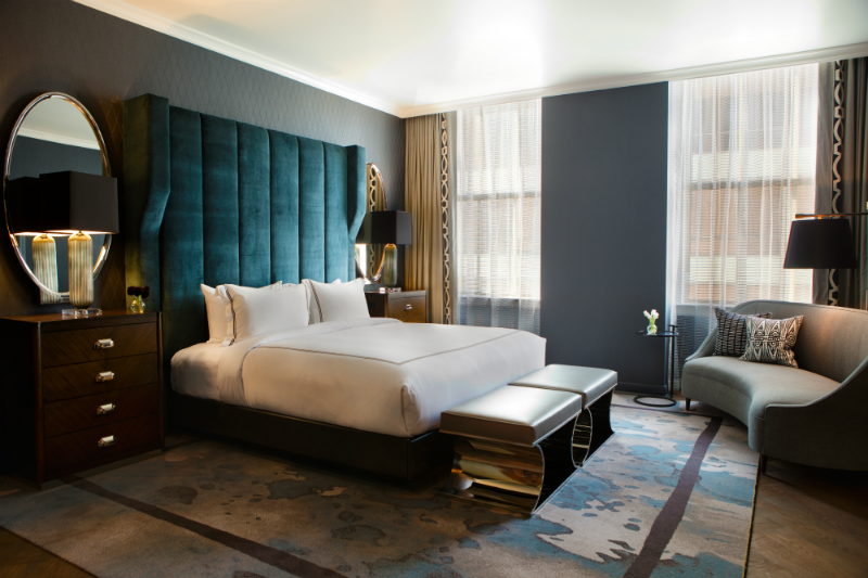 The Coziest Luxury Hotels for Viewing Fall Foliage - Kimpton Cardinal Hotel