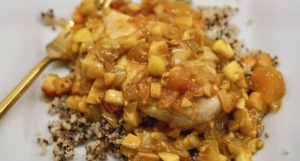 Healthy Recipe - Apple Curry Chicken with Quinoa