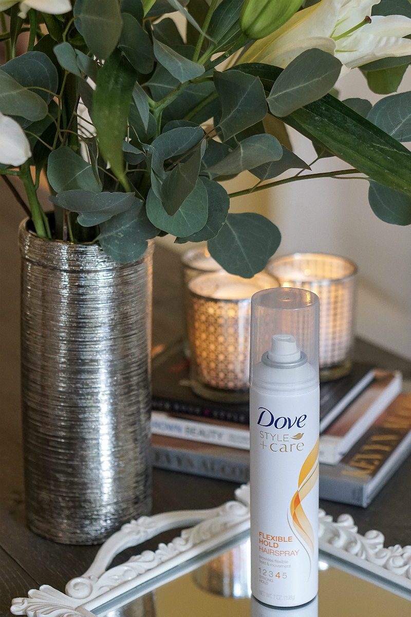 Fall Beauty Essentials - Dove Flexible Hold Hairspray
