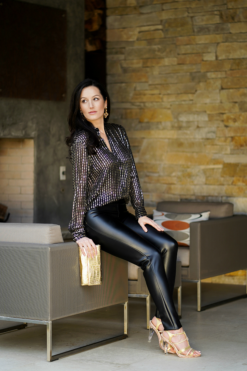 Fall Fashion Guide - How To Style Faux-Leather Pants