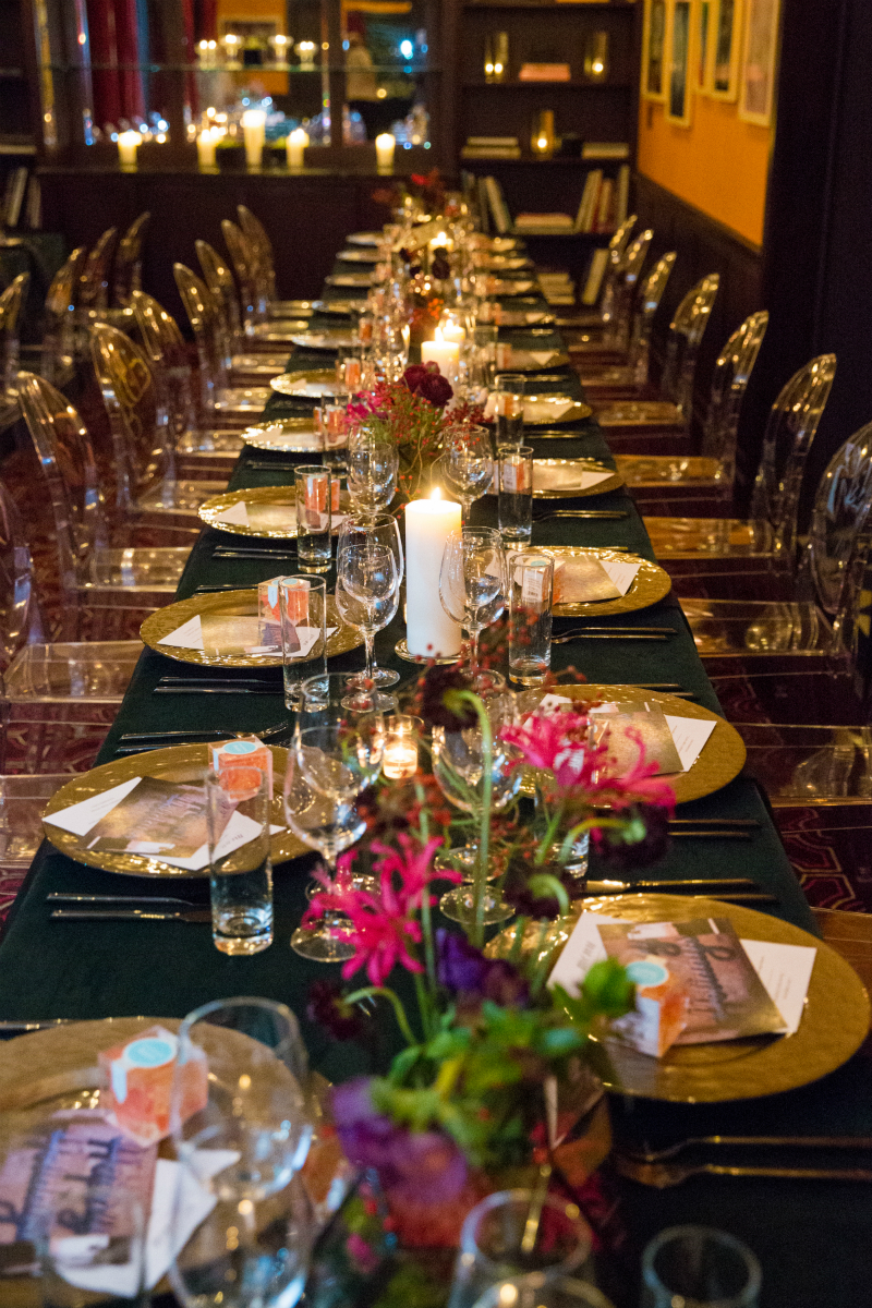 Graffiti Glam Theme Holiday Dinner Party 7 Inspirations And